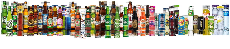 beer cider soft drink water